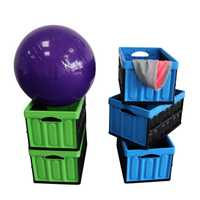 plastic crates folding