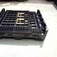 collapsible bulk containers with lids